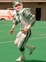 Fran McDermott Saskatchewan Roughriders from 1984. Photo Scott Grant