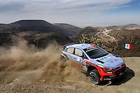 Dani Sordo (ESP) / Marc Marti (ESP)- Hyundai I20 WRC<br /> <br />  <br /> Rally Messico 2016 <br /> Foto Andre Lavadinho / Panoramic / Insidefoto
