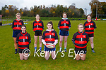 Killarney Rugby club new u18 team at training on Saturday front l-r: KAyla Byrne, Saoirse Murphy, Jean Foley. Back row; Lisa Lenihan, Ella GAlvin, Becci Fleming and Catherine O'Connor