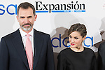 Spanish King Felipe and Queen Letizia attends the Expansion newspaper 30th anniversary at the Palace Hotel, Madrid.  February 7th 2017. (ALTERPHOTOS/Rodrigo Jimenez)