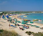 ZYPERN, Sued-Zypern, bei Ayia Napa: Golden Sands Beach | CYPRUS, South-Cyprus, near Ayia Napa: Golden Sands Beach