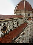 Brunelleschi Dome from top of Campanile Santa Maria del Fiore Florence