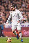 Nacho Fernandez of Real Madrid in action during their La Liga match between Real Madrid and Real Sociedad at the Santiago Bernabeu Stadium on 29 January 2017 in Madrid, Spain. Photo by Diego Gonzalez Souto / Power Sport Images