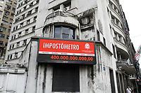 22.02.2019 - Impostômetro atinge a marca de R$ 400 bilhões em SP