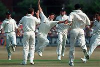 Pix:Michael Steele/SWpix...Cricket. Yorkshire v Lancashire, Headingley, 1995...COPYRIGHT PICTURE>>SIMON WILKINSON..Yorkshires Darren Gough.