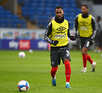 26th December 2020; Cardiff City Stadium, Cardiff, Glamorgan, Wales; English Football League Championship Football, Cardiff City versus Brentford; Rico Henry of Brentford during warm up