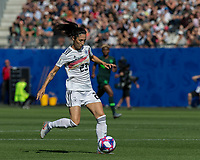 GRENOBLE, FRANCE - JUNE 22: Sara Doorsoun #23 of the German National Team controls the ball during a game between Panama and Guyana at Stade des Alpes on June 22, 2019 in Grenoble, France.