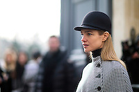 Natalia Vodianova attends the Christian Dior Haute Couture Spring Summer 2017 show as part of Paris Fashion Week at Musee Rodin on January 23, 2017 in Paris, France. # FASHION WEEK DE PARIS - DEFILE 'DIOR' - PEOPLE
