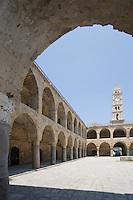 Asie/Israël/Galilée/Saint-Jean-d'Acre: le Caravansérail dans la vieille ville