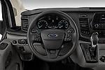 Car pictures of steering wheel view of a 2021 Ford Transit-Van - 4 Door Cargo Van Steering Wheel