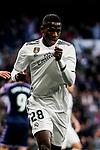 Vinicius Junior of Real Madrid reacts during the La Liga 2018-19 match between Real Madrid and Real Valladolid at Estadio Santiago Bernabeu on November 03 2018 in Madrid, Spain. Photo by Diego Souto / Power Sport Images