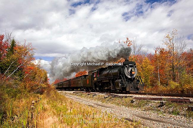 Steam Locomotive, Pocono Mts, PA
