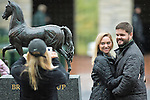 October 28, 2015 :  Scenes from morning workouts in preparation for the Breeders' Cup at Keeneland Race Course in Lexington, Kentucky on October 28, 2015. Scott Serio/ESW/CSM