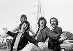 Fleetwood Mac 1968 Mick Fleetwood, Jeremy Spencer, Peter Green, John McVie<br /> © Chris Walter