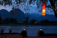View near Vang Vieng, Laos