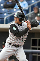 April 14, 2007:  Issac Omura of the Kane County Cougars at Elfstrom Stadium in Geneva, IL  Photo by:  Chris Proctor/Four Seam Images