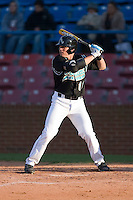 Tommy Winegardner #11 of the Coastal Carolina Chanticleers at bat versus the Wake Forest Demon Deacons at Wake Forest Baseball Park April 8, 2009 in Winston-Salem, North Carolina. (Photo by Brian Westerholt / Four Seam Images)