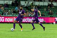 24th March 2021; HBF Park, Perth, Western Australia, Australia; A League Football, Perth Glory versus Sydney FC; Perth's Osama Malik with the ball
