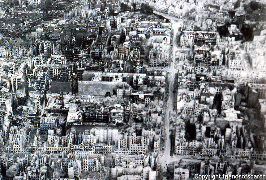Berlin: The Ruins of Kreuzberg, 1945. Reference only.