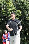 Yao Ming plays during the World Celebrity Pro-Am 2016 Mission Hills China Golf Tournament on 23 October 2016, in Haikou, China. Photo by Weixiang Lim / Power Sport Images
