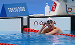 Aurelie Rivard, Tokyo 2020 - Para Swimming // Paranatation.<br /> Aurelie Rivard competes in the women's 50m S10 freestyle heats // Aurelie Rivard participe aux éliminatoires féminins du 50 m libre S10. 08/25/2021.