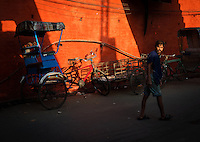 Colors in the streets of Kolkata, West Bengal India