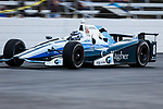 Verizon IndyCar Series driver Max Chilton (8) in action during the RainGuard 600 race at Texas Motor Speedway in Fort Worth,Texas.