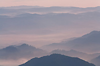 Stacked ridges in morning light, Roan Highlands