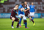 Hearts v St Johnstone....02.11.13     SPFL<br /> Nigel Hasselbaink and Scott Robinson<br /> Picture by Graeme Hart.<br /> Copyright Perthshire Picture Agency<br /> Tel: 01738 623350  Mobile: 07990 594431