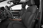 Front seat view of 2015 Audi A8 3.0T SWB quattro tiptronic 4 Door Sedan front seat car photos