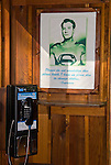 Superman's phone booth in Volcano, Amador County, Calif.