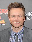 Joel McHale at The Weinstein Company World Premiere of Spy Kids: All the Time in the World in 4 held at The Regal Cinames,L.A. Live in Los Angeles, California on July 31,2011                                                                               © 2011 Hollywood Press Agency