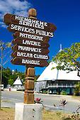 Village de Hienghène, province Nord, Nouvelle-Calédonie