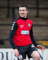 21st November 2020; Somerset Park, Ayr, South Ayrshire, Scotland; Scottish Championship Football, Ayr United versus Dundee FC; Michael Hewitt of Ayr United during the warm up before the match