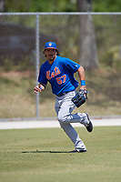 New York Mets Jay Jabs (57) during practice before a minor league Spring Training game against the Miami Marlins on March 26, 2017 at the Roger Dean Stadium Complex in Jupiter, Florida.  (Mike Janes/Four Seam Images)