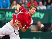 16-09-12, Netherlands, Amsterdam, Tennis, Daviscup Netherlands-Suisse, Mario Chiudinelli