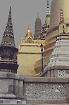 The Grand Palace is a complex of buildings at the heart of Bangkok, Thailand. The palace has been the official residence of the Kings of Siam since 1782. The king, his court and his royal government were based on the grounds of the palace until 1925. The present monarch, King Bhumibol Adulyadej, currently resides at Chitralada Palace, but the Grand Palace is still used for official events. Several royal ceremonies and state functions are held within the walls of the palace every year. The palace is one of the most popular tourist attractions in Thailand.