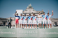 Team FDJ team presentation<br /> <br /> 97th Brussels Cycling Classic (1.HC)<br /> 1 Day Race: Brussels > Brussels (201km)