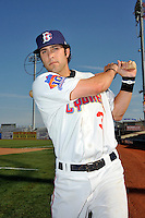 Brooklyn Cyclones infielder Rylan Sandoval (3) before game against the Lowell Spinners at MCU Park in Brooklyn, NY July 20, 2010.  Photo By Tomasso DeRosa/ Four Seam Images