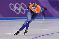 OLYMPIC GAMES: PYEONGCHANG: 12-02-2018, Gangneung Oval, Long Track, 1500m Ladies, Lotte van Beek (NED), ©photo Martin de Jong