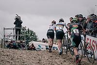 Women's Elite race<br /> <br /> UCI cyclocross World Cup Koksijde / Belgium 2017