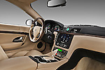 Passenger side dashboard view of a 2010 Maserati Granturismo S Automatic Coupe