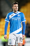 St Johnstone v Hearts…05.04.17     SPFL    McDiarmid Park<br />Joe Shaughnessy<br />Picture by Graeme Hart.<br />Copyright Perthshire Picture Agency<br />Tel: 01738 623350  Mobile: 07990 594431