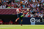 Atletico de Madrid's Jose Maria Gimenez during La Liga match. September 15, 2018. (ALTERPHOTOS/A. Perez Meca)