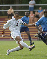 Charlie Davies makes a pass. Boston College vs St. Peters at the Newton Campus on August 31, 2006.