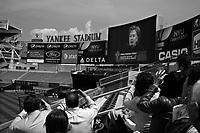 New York, May 13, 2009.Hilary Clinton' speech at the 2009 New York University graduation ceremony in the new Yankee Stadium.