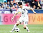 South Korea's Taehee Nam during friendly match. June 1,2016.(ALTERPHOTOS/Acero)