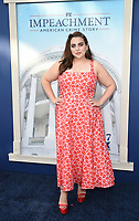 """WEST HOLLYWOOD - SEPT 1: Beanie Feldstein attends a red carpet event for FX's """"Impeachment: American Crime Story"""" at Pacific Design Center on September 1, 2021 in West Hollywood, California. (Photo by Frank Micelotta/FX/PictureGroup)"""