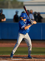 Jesuit Tigers Jake Kulikowski (24) bats during a game against the IMG Academy Ascenders on April 21, 2021 at IMG Academy in Bradenton, Florida.  (Mike Janes/Four Seam Images)