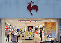 Bigrooster, a sports retailer and a rip-off of the Le Coq Sportif brand in Shenzhen, China. The French sports manufacturer along with many other western brands suffers direct and indirect copyright infringement..22 Apr 2010